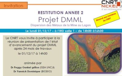INVITATION : Restitution des 24 mois de travaux du projet DMML le 01/12/17