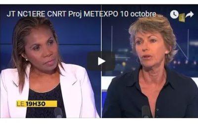 VISIONNER : JT NC1ère Invitée France BAILLY & Reportage sur le projet METEXPO [oct 2017]