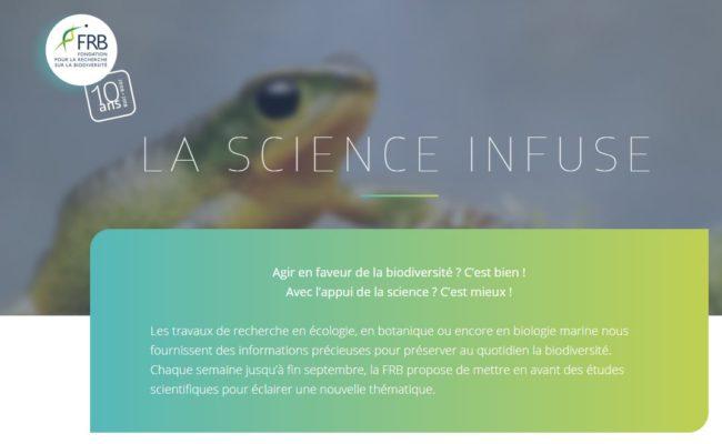 CNRT partenaire de la FRB Fondation sur le Recherche pour la Biodiversité [juill.2018]