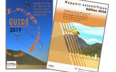 2 RAPPORTS liés au Projet OPHIOSTRUCT : Connaissance de l'Ophiolite : Géophysique aéroportée et étude de la structure