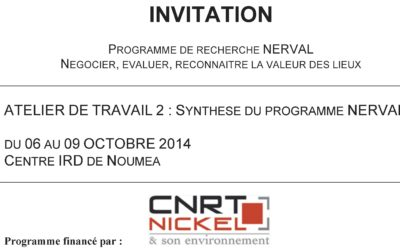 Atelier du projet NERVAL du 6 au 9 oct 2014