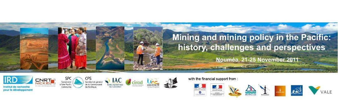 COLLOQUE INTERNATIONAL A NOUMEA LE 21-25 NOVEMBRE  2011
