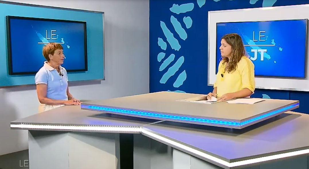 VISIONNER : JT Calédonia Invitée Sylvaine Cordier, Dr à l'INSERM – Reportage sur le projet METEXPO [oct 2017]