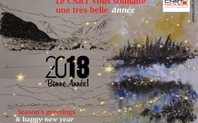 Le CNRT vous adresse ses meilleurs vœux 2018