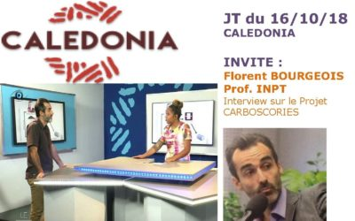 PRESSE TV : JT CALDONIA interview de Florent BOURGEOIS le 16/10/18