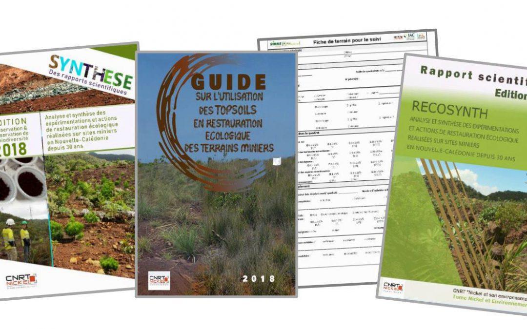 Guide TOPSOIL, Synthèse, Rapport scientifique & Fiches terrain liés au projet RECOSYNTH [décembre 2018]