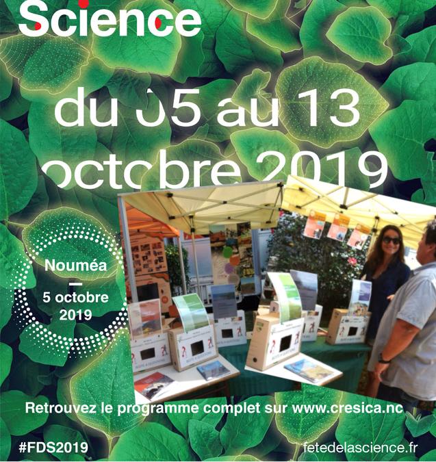 FETE DE LA SCIENCE 2019 à Nouméa du 05 au 13 octobre 2019