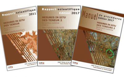 3 RAPPORTS liés au Projet MESURE IN SITU : Mesure in situ des teneurs en nickel des profils d'altération latéritiques en Nouvelle-Calédonie