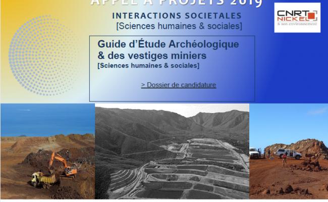APPEL A PROJETS Guide d'étude archéologique & des vestiges miniers [18/11/19]