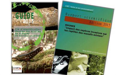 2 RAPPORTS liés au Projet RMINE : Impact des espèces invasives du les reptiles des massifs miniers