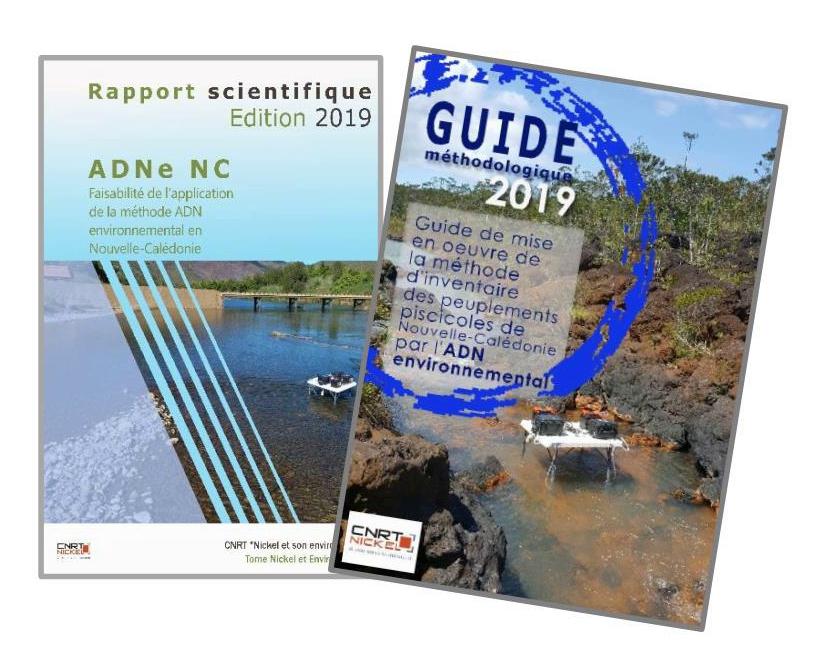 2 RAPPORTS liés au Projet ADNE NC : Faisabilité de l'application de la méthode ADN environnemental en Nouvelle-Calédonie
