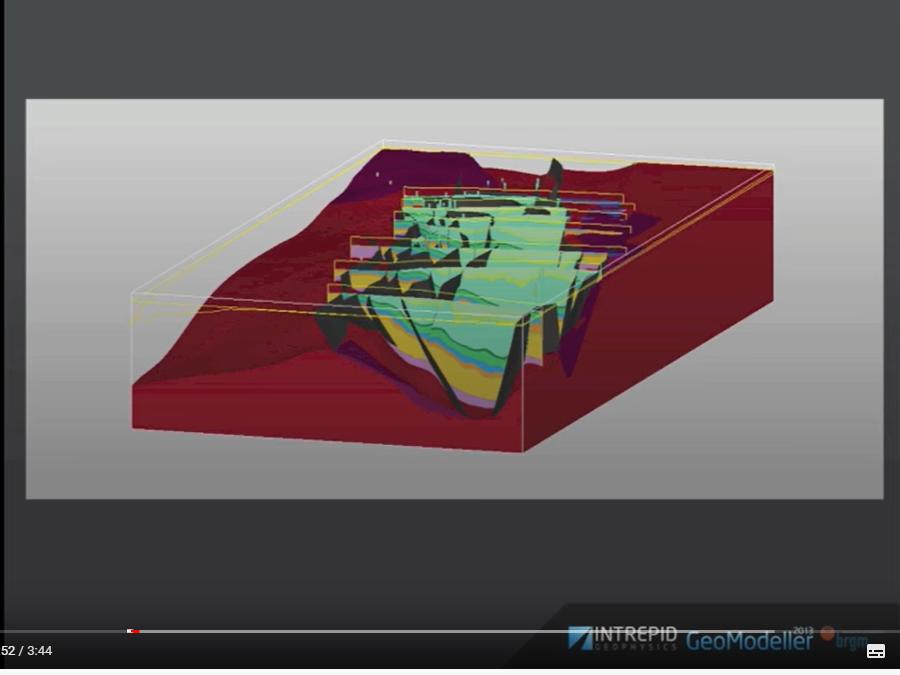 Vidéo du BRGM sur GeoMedeller 3D projet MOD 3D