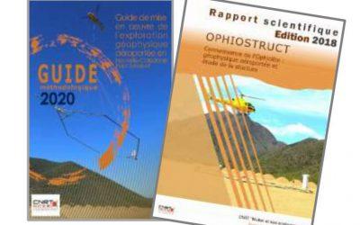 2 RAPPORTS liés au Projet OPHIOSTRUCT : Connaissance de l'Ophiolite : Géophysique aéroportée et étude de la structure en Nouvelle-Calédonie