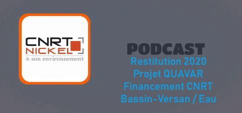 ECOUTER le podcast de la restitution des travaux de recherche année 1 du projet QUAVAR «Qualité des eaux douces et valeurs de rejet pour les cours d'eau des milieux ultramafiques » » du 26/11/20