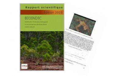 Rapport scientifique lié au Projet BIOINDIC  Identification d'indicateurs biologiques du fonctionnement des écosystèmes miniers restaurés» – Edition 2019