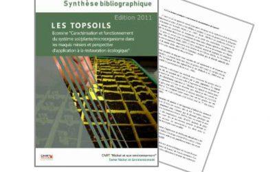 Synthèse bibliographique sur les topsoils en Nouvelle-Calédonie, liée au programme ECOMINE BIOTOP – Edition 2011