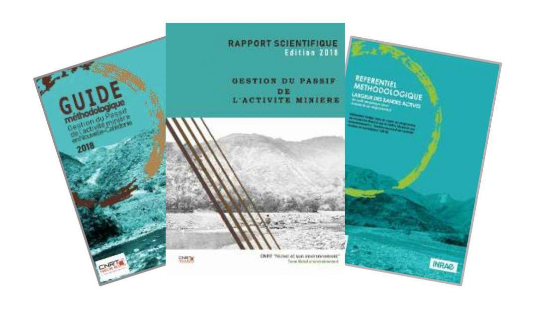 3 rapports scientifiques liés au Projet GESTION DE L'ACTIVITE MINIERE ET REMEDIATION (engravement et sédimentation) – Edition 2018