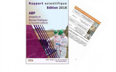 Rapport scientifique lié au Projet ABP : Amiante et bonne pratiques en Nouvelle-Calédonie – Edition 2018