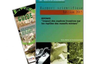 Rapport scientifique lié au Programme RMINE : Impact des espèces invasives sur les reptiles des massifs miniers – Edition 2015