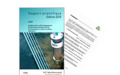 Rapport scientifique lié au programme ADIIP, Amélioration et développement d'indicateurs d'impact et de pression pour le suivi du milieu lagonaire – Edition 2015