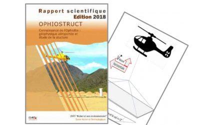 Rapport scientifique lié au Projet OPHIOSTRUCT : Connaissance de l'Ophiolite : Géophysique aéroportée et étude de la structure en Nouvelle-Calédonie – Edition 2019