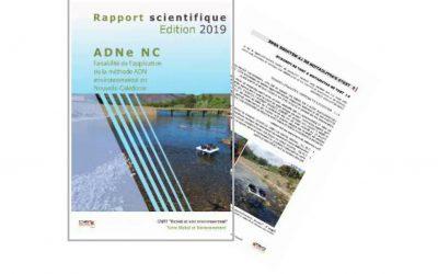 Rapport scientifique lié au Projet ADNE NC : Faisabilité de l'application de la méthode ADN environnemental en Nouvelle-Calédonie – Edition 2019