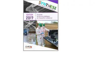Synthèse scientifique lié au Projet ABP : Amiante et bonne pratiques en Nouvelle-Calédonie – Edition 2017