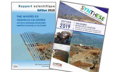 2 Rapports scientifiques liés au projet PME MINIERES EN NOUVELLE-CALEDONIE
