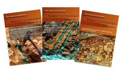 Rapports scientifiques (3 volumes) du programme intégré «Les gisements de nickel latéritiques de Nouvelle-Calédonie» – Edition 2016