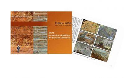 Atlas des latérites nickélifères de Nouvelle-Calédonie – Edition 2016