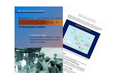Rapport scientifique lié au projet Gouvernance Minière  – Edition 2015