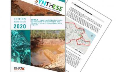 Synthèse scientifique du projet IMMILA «Qualification et quantification des flux de la mine au lagon et de leurs impacts – Edition 2020