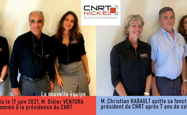 M. Didier VENTURA est nommé à la présidence du CNRT depuis le 17 juin 2021