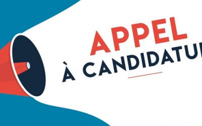 2021 APPEL A CANDIDATURE report  de la date limite des dépôts de candidature le 06/09/2021